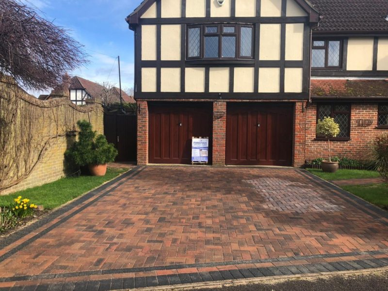 Block Paving Driveway Remodeled in Hedge End, Southampton