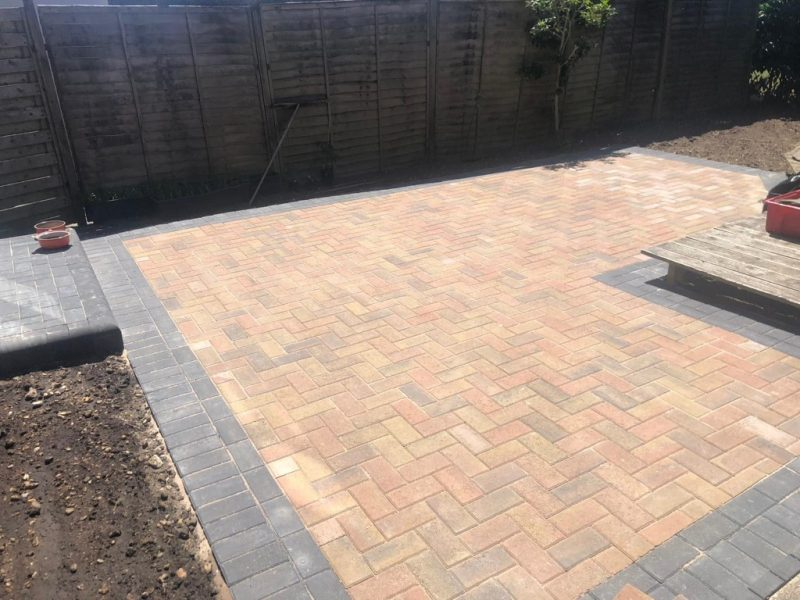 Block Paving Driveway and Patio in Warsash