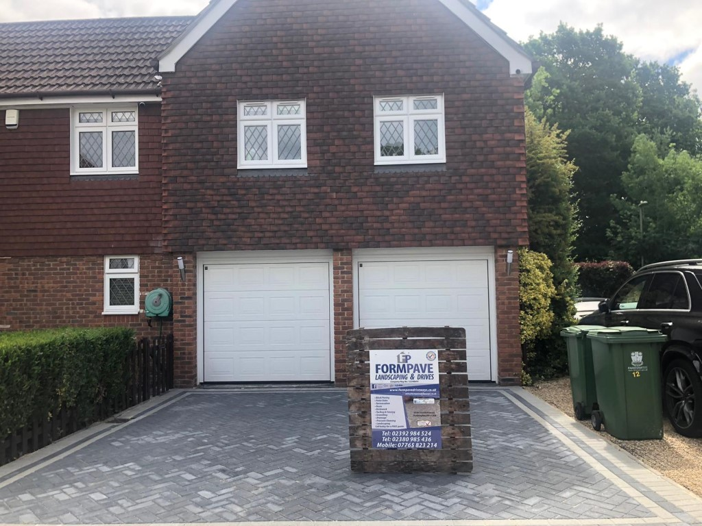 Block Paving Driveway and Patio in Whiteley, Fareham