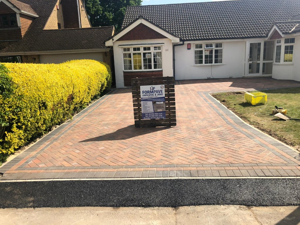 Block Paving Driveway in Whiteley, Hampshire