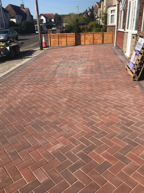 Brindle Block Paving Driveway in Haven, Portsmouth