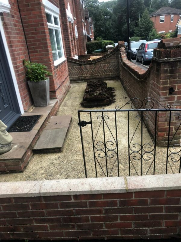 Front Patio in Southampton