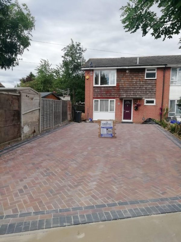 New Brindle Driveway in Havant, Hampshire