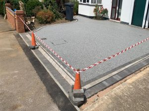 Resin Bound Driveway in Hedge End, Southampton