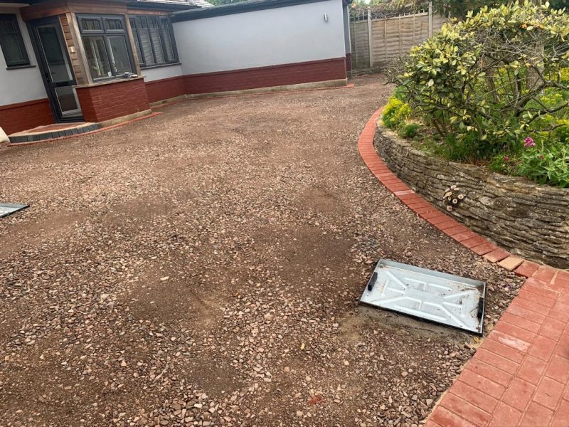 Tarmac Driveway with White Chippings in Southampton